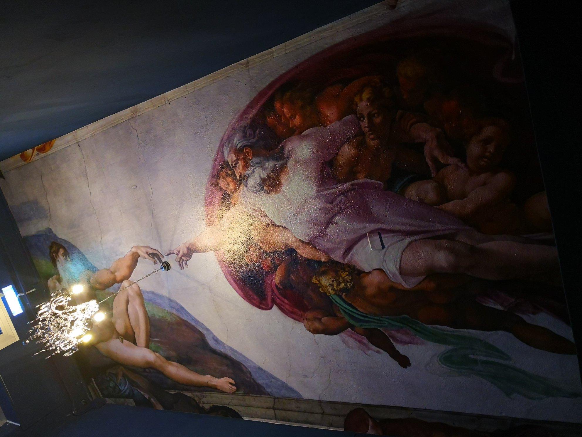 creazione-di-adamo-affresco-soffitto-pellicola-per-muro-wall-wrapping-wall-paper